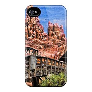 Awesome Thunder Mountain Disney World Flip Case With Fashion Design For Iphone 4/4s