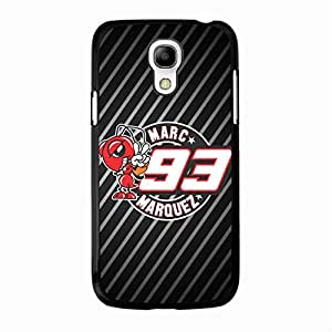 Samsung Galaxy S4 Mini Case Cover Shell Classical Funny Stripes Motogp 93 Marc Marquez Phone Case Cover Motorcycle Fashionable