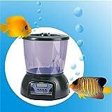 Automatic Pond Feeder, BenchMart Large Capacity (4.25L) Aquarium Fish Feeder, 4 Meals a