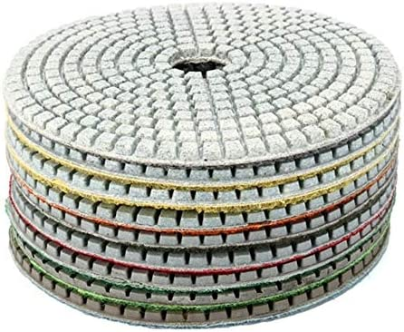 Diamond Polishing Pad  for Granite Wet//Dry Grinding Disc Marble Glass Concret