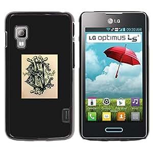 All Phone Most Case / Hard PC Metal piece Shell Slim Cover Protective Case Carcasa Funda Caso de protección para LG Optimus L5 II Dual E455 E460 logo brand poser ink tattoo graffiti