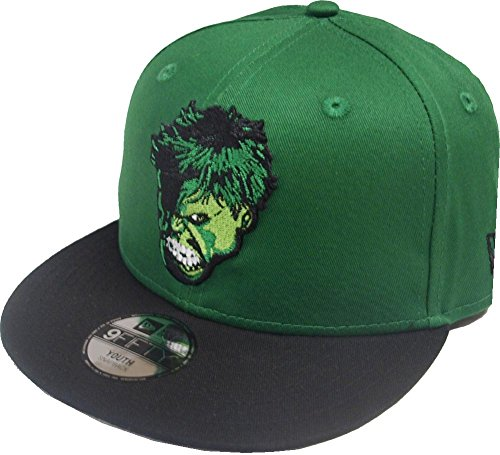 New Era Hulk Hero Essential 9fifty 950 Youth Snapback Cap Kids Kinder (Snapback Hulk)