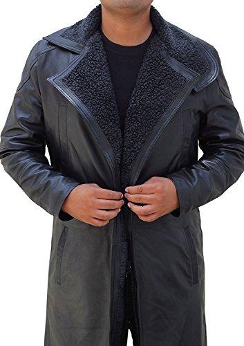 Blade Runner Costume for Halloween 2017 - Cosplay Leather Jacket   Black, (Blade Runner Halloween Costumes)