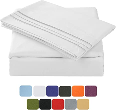 Floris Fashion Full XL Premium Egyptian Cotton Aqua Blue Solid Box Pleated Styling Classic Tailored Bedskirt Solid with Split Corners 15 Drop Wrinkle /& Fade Resistant Free Grocery Bag//Order