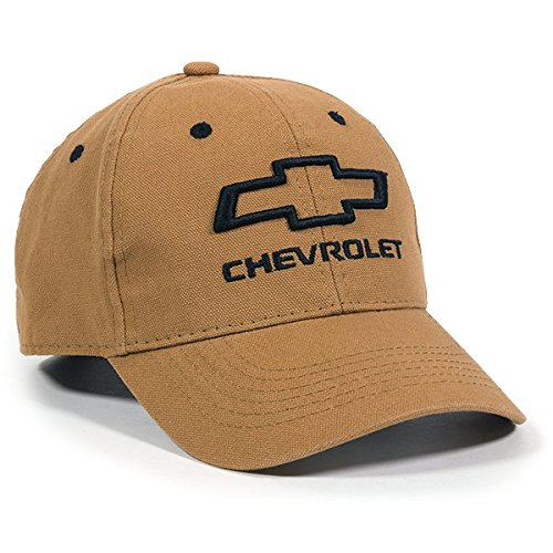 Outdoor Cap Chevrolet Structured Canvas Cap, - Baseball Cap Chevy