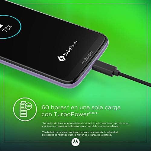 Motorola Moto G7 Power – Smartphone Android 9 (pantalla 6.2 HD+ Max Vision, cámaras 12MP y 8MP, 4GB de RAM, 64 GB, Dual SIM), color violeta hielo [Versión española]: Motorola: Amazon.es: Electrónica