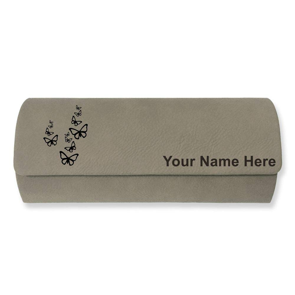 Butterflies Sunglass Case Personalized Engraving Included