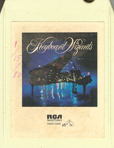 Various Artists: Keyboard Wizards 8 track tape