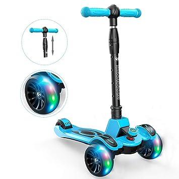 Amazon.com: Kick - Patinete ajustable con rueda de ...