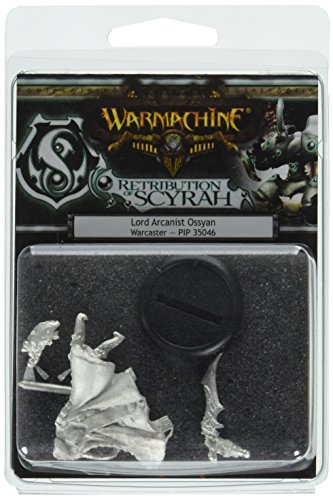 Privateer Press - Warmachine - Retribution: Lord Arcanist Ossyan Model Kit 3