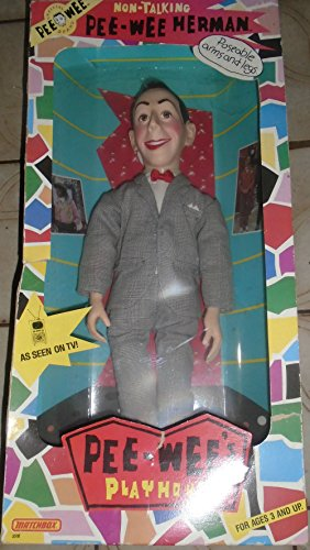 Talking Pee Wee Herman Doll with Poseable Arms and Legs ()