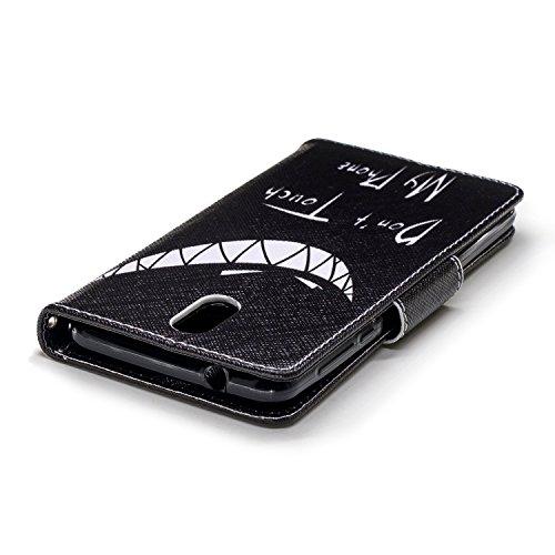 Case Cuir pour BONROY Printemps sourire Cartes 3 2018 2018 Portefeuille 3 Cover PU Porte Wallet Étui Nokia Coque Housse Fonction 1 Dragonne Nokia Support Flip avec 1 rRRY4PWqwx