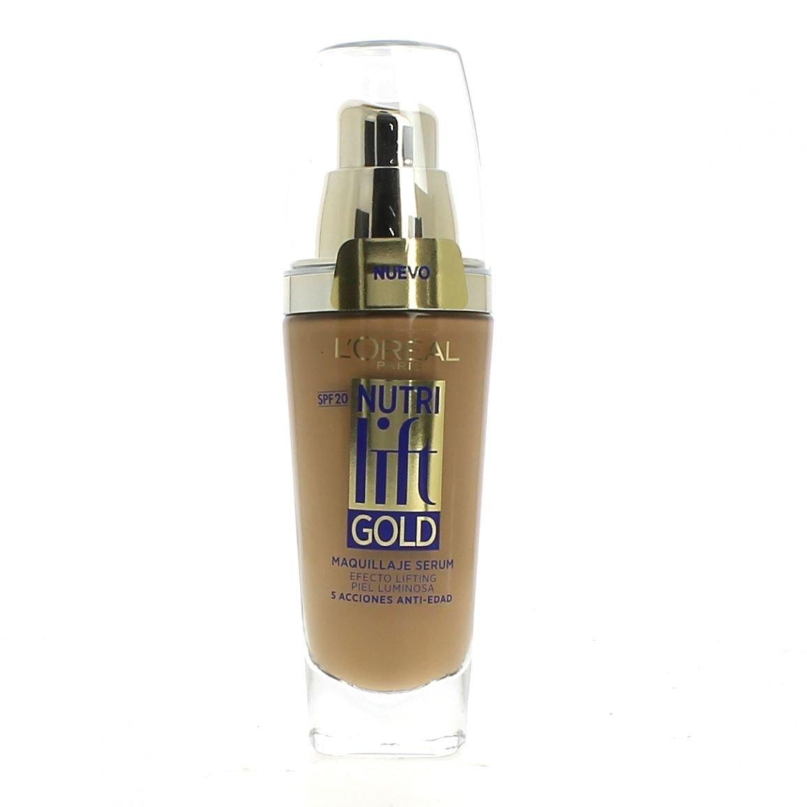 L'Oreal Nutrilift Gold: base de maquillaje fluida, 370 ml, colorcapuchino L' Oreal