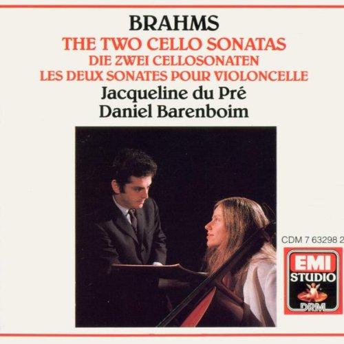 Brahms: The Two Cello Sonatas by Jacqueline du Pre and Daniel Barenboim (Cello Two Sonatas)