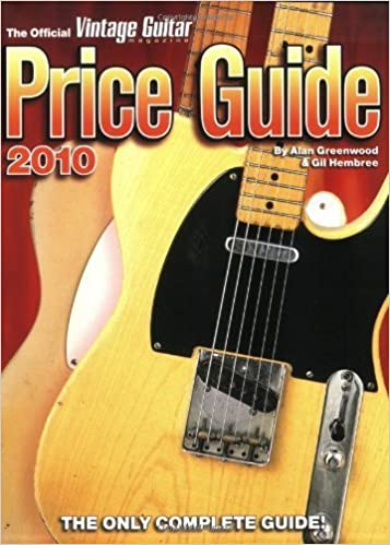 Book 2010 Official Vintage Guitar Magazine Price Guide (2009-11-01)
