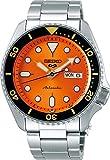 Seiko 5 Sports Automatic Orange Dial Men's Watch SRPD59K1