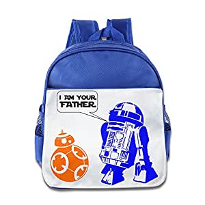 R2D2 BB-8 I Am Your Father Children Stylish Pack School Bag