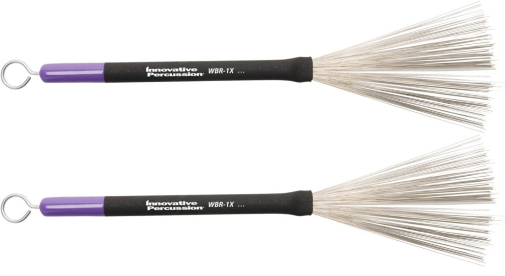 Innovative Percussion Wire Retractable Brush with Pull Rod Medium WBR-1X