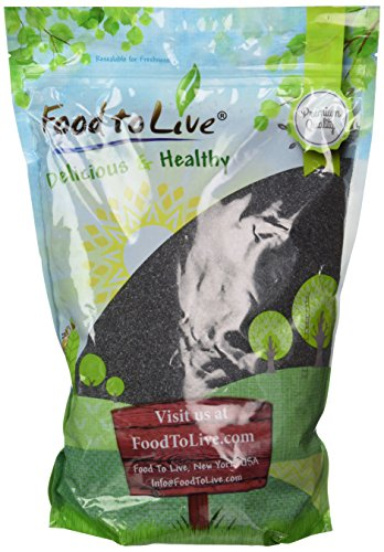 Spain Poppy Seed by Food to Live (4 Pounds) (Seeds Foods Poppy)