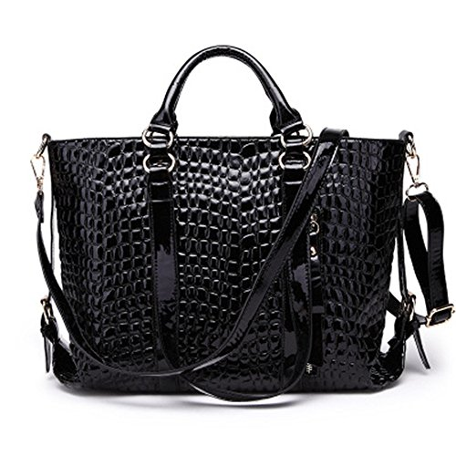 Negro Simple Hombro Bolsa GWQGZ Inclinada De Moda Bolso Dama Nuevo La Single Black WnqzHwPzg