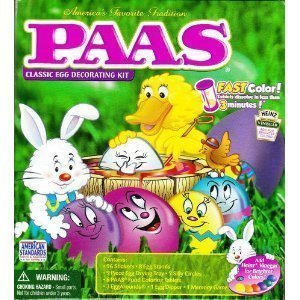 PAAS Friends Egg Decorating Kit, (Easter Egg Painting)