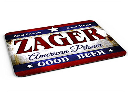 Zager American Pilsner Mousepad/Desk Valet/Coffee Station for sale  Delivered anywhere in USA