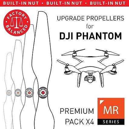 Amazoncom Master Airscrew Mas Upgrade Propellers For Dji Phantom