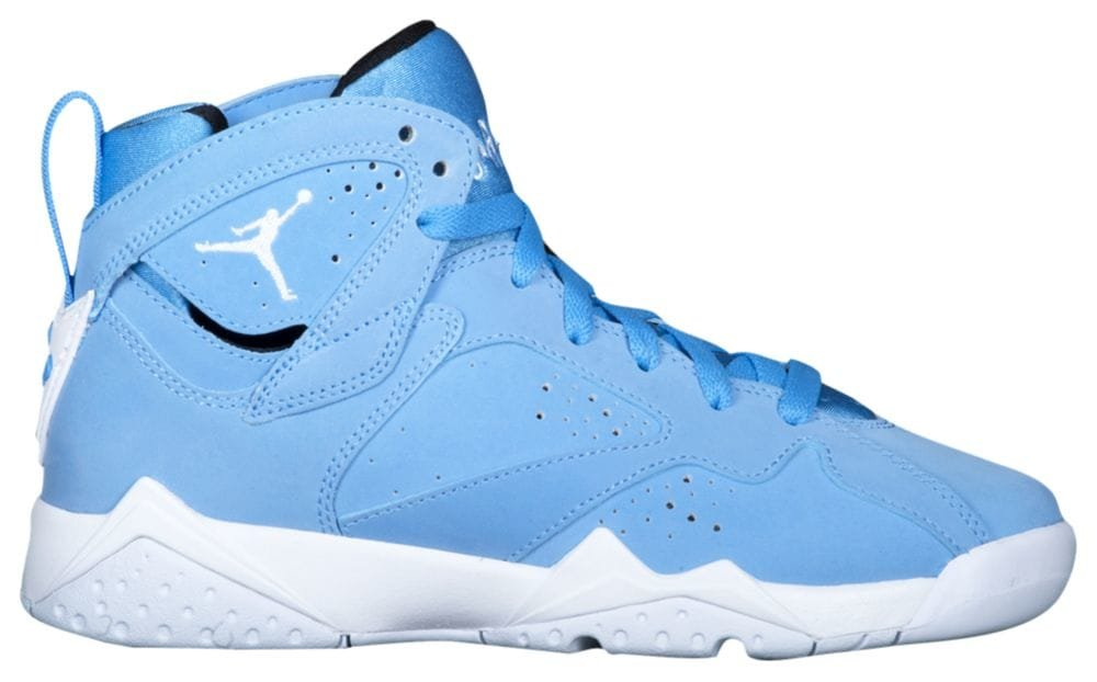 Nike Kids' Air Jordan 7 Retro BG Blue/White/Black 304774-400 (SIZE: 4Y)