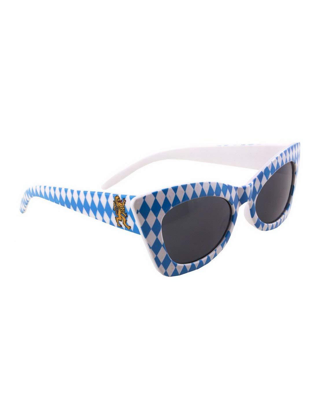 Accesorios para Disfraz de Bavaria, Gafas de Sol con Rombos ...