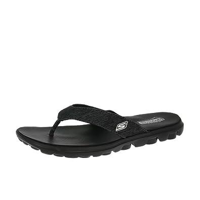 de0d6c7a3d4a Skechers Sandals On-The-Go-Flow 13631 Black  Amazon.co.uk  Shoes   Bags