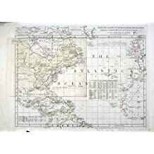 """1767 Historical Map British, French, & Spanish settlements in North America West Indies - Map Reprint 24"""" X 33"""""""