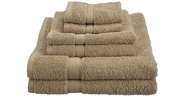 Drifwood nuevo 6 piezas 100% algodón egipcio 725 G toalla de baño juego de toallas: Amazon.es: Hogar