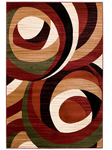 Summit 9 New Area Rug Modern Abstract Rug Many Sizes Available , 2 x 7 actual is 22 x7