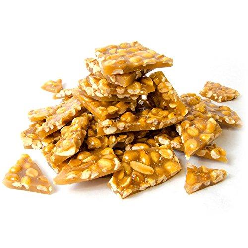 (Lang's Chocolates Peanut Brittle 8oz bag)