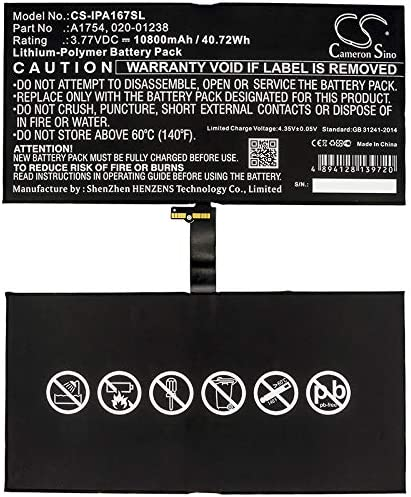 GAXI Battery Replacement for Apple A1670 Compatible with Apple A1671 Tablet Battery iPad Pro 12.9 2017 2nd Gen iPad Pro 12.9 2nd Gen A1821