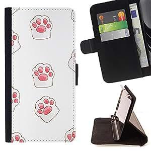 King Case - FOR Sony Xperia M2 - ?as good as the warm present - Prima caja de la PU billetera de cuero con ranuras para tarjetas, efectivo Compartimiento desmontable y correa para la mu?eca