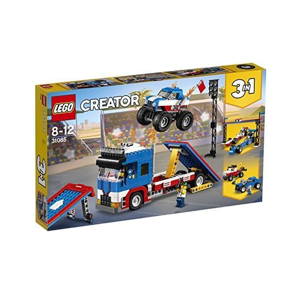 LEGO Truck Dello Stuntman Costruzioni Piccole Gioco Bambino Bambina Giocattolo 109 1 spesavip