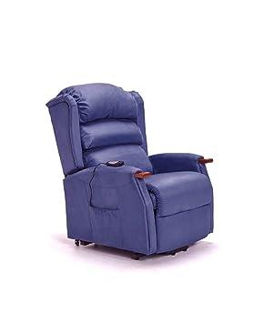Befara Sillon DE Masaje Elevador 2 Motores Splendor Azul ...