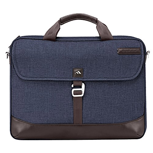 Brenthaven Collins Slim Brief Laptop Case for Laptop 15.4