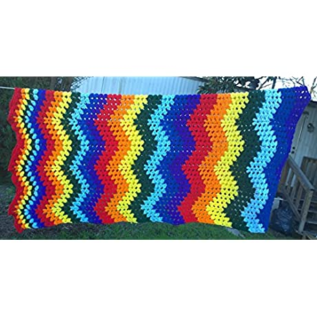 Rainbow Lap Blanket