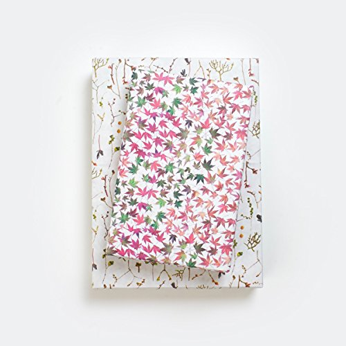 - Pink Leaves Designer Gift Wrap (6 Sheet Value Pack) - Reversible - Eco-friendly Wrapping Paper By Wrappily