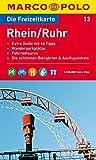 MARCO POLO Freizeitkarte Rhein/Ruhr 1:100.000
