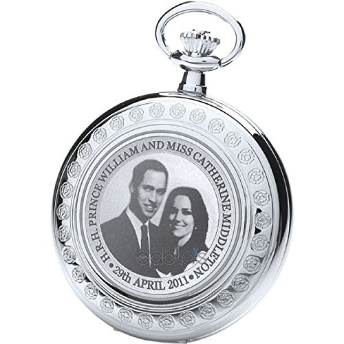 Royal London Limited Edition Royal Wedding Pocket Watch by Royal London