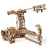 S.T.E.A.M. Line Toys UGears Models 3-D Wooden Puzzle - Mechanical Aviator