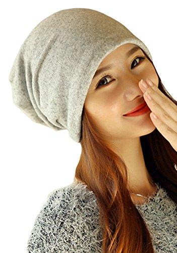 Qunson Women's Lightweight Turban Slouchy Beanie Hat Cap