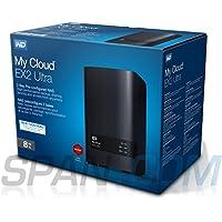 Western Digital My Cloud EX Ultra 8TB 2-Bay Network Attached Storage 3.0 USB (Black) Western DigitalBVBZ0080JCH-BESN