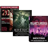 Dinesh D'Souza Collection + Digital Copy (2016: Obama's America/America - Imagine The World Without Her/Hillary's America)