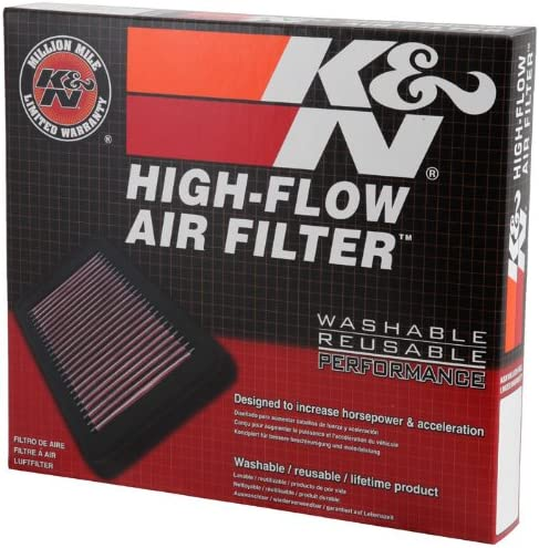 33-2104 K/&N Replacement Air Filter High Flow Design for Increased Performance
