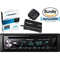 Pioneer DEH-X8800BHS CD Receiver with MIXTRAX, Bluetooth, HD Radio, Bluetooth Hands-Free Calling and Wireless Audio Streaming, Dual USB & SiriusXM SXV300V1 Tuner and Antenna (SiriusXM Value Bundle)