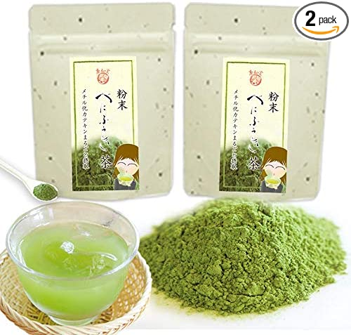 べにふうき粉末茶40g2個 (2)